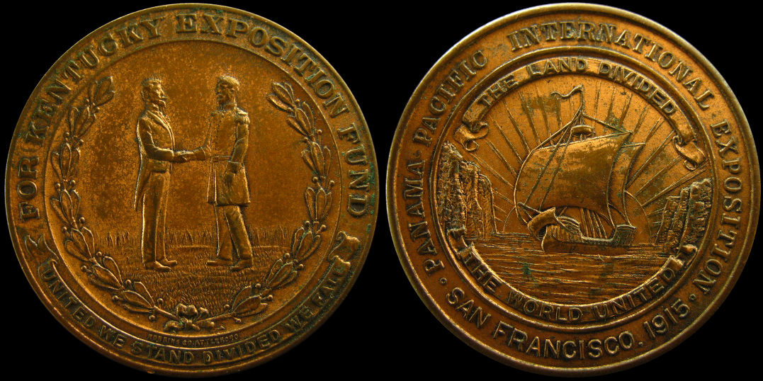Panama Pacific International Exhibition Kentucky Fund Dollar Medal
